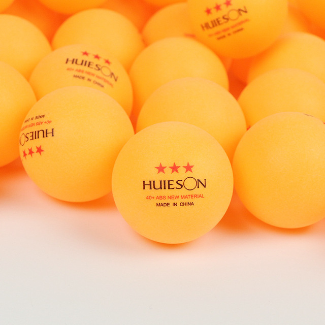 Table tennis balls Huieson 3 stars for ping pong training 10pcs