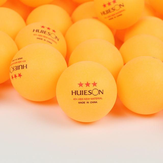 Table tennis balls Huieson 3 stars for ping pong training 10pcs