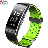696 Z11 IP68 Waterproof Fitness Tracker Smart Band Bluetooth Wristband Blood Pressure Heart Rate Monitor Sport Smart Bracelet Ba
