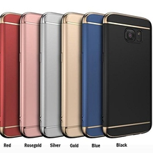 3 in 1 Case For Samsung Galaxy A7 2016 SM-A710F Back Cover 360 Degree Protection Ultra Thin Slim Coque