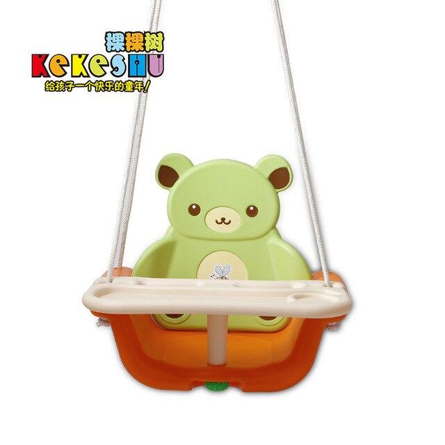 Indoor Outdoor Children Hanging Chair Seat Kindergarten Toy Playground Garden Swings Plastic Swing Seat Kids Toys Gifts