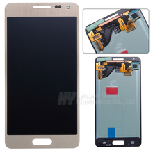 100% TOP quality New Grey For Samsung for Galaxy Alpha G850 G850F G850M G850K G850S LCD Display Touch Screen Digitizer Assembly