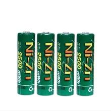 4 шт BPI Bateria AA батареи 1,6 V никель-Цинк 2500 mwh Ni-Zn 2A aa перезаряжаемые батареи