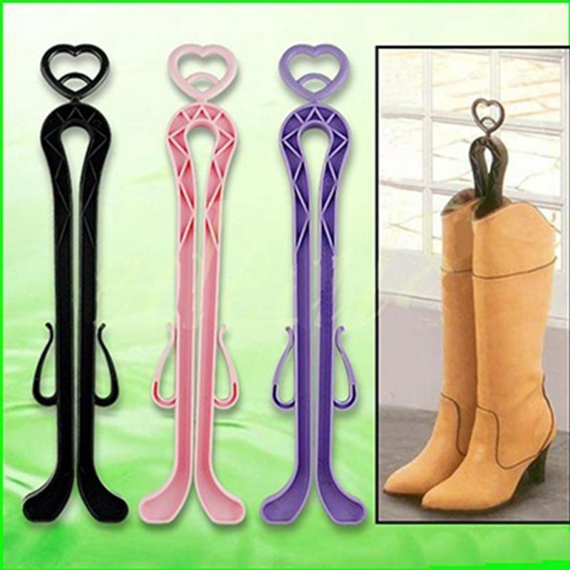 Hot Selling Plastic Long Boots Shaper Supporter Shaft Keeper Holder Organizer Storage Hanger