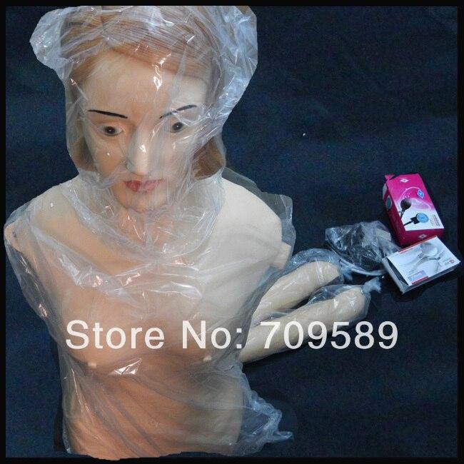 Mannequin de formation médicale Palpation de l'abdomen, Auscultation et mannequin de mesure de la pression artérielle