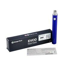 เดิมKanger Evodแบบชาร์จไฟได้1100มิลลิแอมป์ชั่วโมงแบตเตอรี่บุหรี่อิเล็กทรอนิกส์3.7โวลต์แรงดันไฟฟ้า510กระทู้Vapeชุด