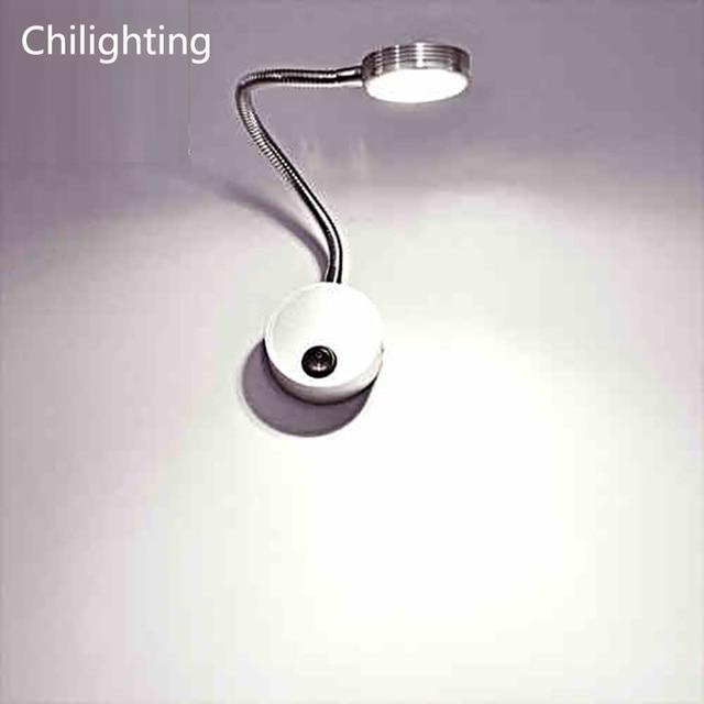Marvelous Flexible Metal Hose LED Wall Light 3 5W LED Reading Light LED Gooseneck  Light Hotel