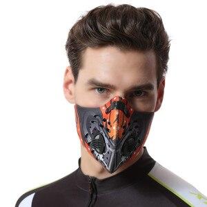 Image 5 - XINTOWN רכיבה על אופניים Windproof מסכת חורף נגד אבק הפה מופל מסכת מסכות נגד זיהום סקי הריצה פנים אופניים מסכת