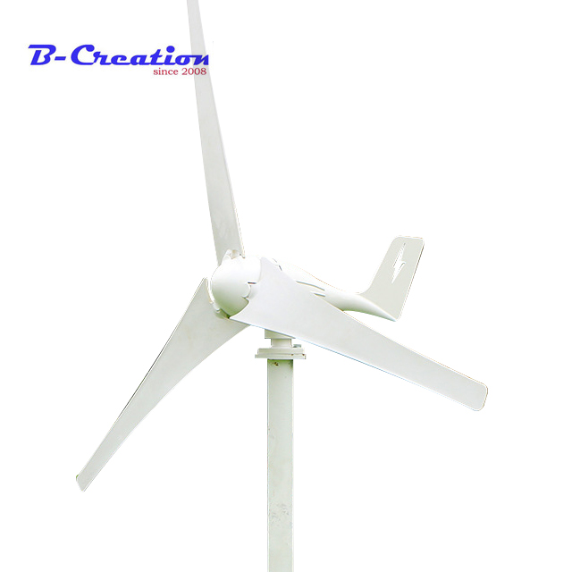 все цены на 400W Wind Generator 12V 24V 3/5 Blades Max Power 500W Small Wind Turbine With 600W Waterproof PWM Wind Solar Hybrid Controller онлайн