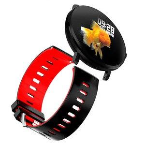 Image 3 - SENBONO K9 Men Smart watch IP68 waterproof IPS Full Touch Heart rate monitor Fitness tracker Sports Women smartwatch PK V11 K1