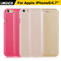 IMUCA Cell Phones Luxury PU Leather Flip Case For Apple Iphone 6 6g 4 7inch Phone