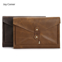 Joy Corner Drop Shipping File A4 Folder Organizer Leather A4 Folder Rangement Papier Documents Fichario Escolar