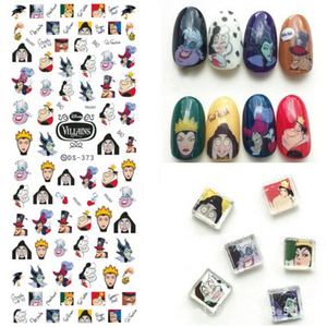 Image 1 - 1 PCS Water Decals Nails Sticker On Nails Harajuku Element Cats Kitty Nail Art Stickers Sliders For Nails Sticker Art ZJT024