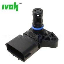 4Bar MAP Sensor Intake Air Boost Pressure Manifold Absolute For Renault Peugeot Kia Pride Hyundai Citroen 5WK96841 2045431