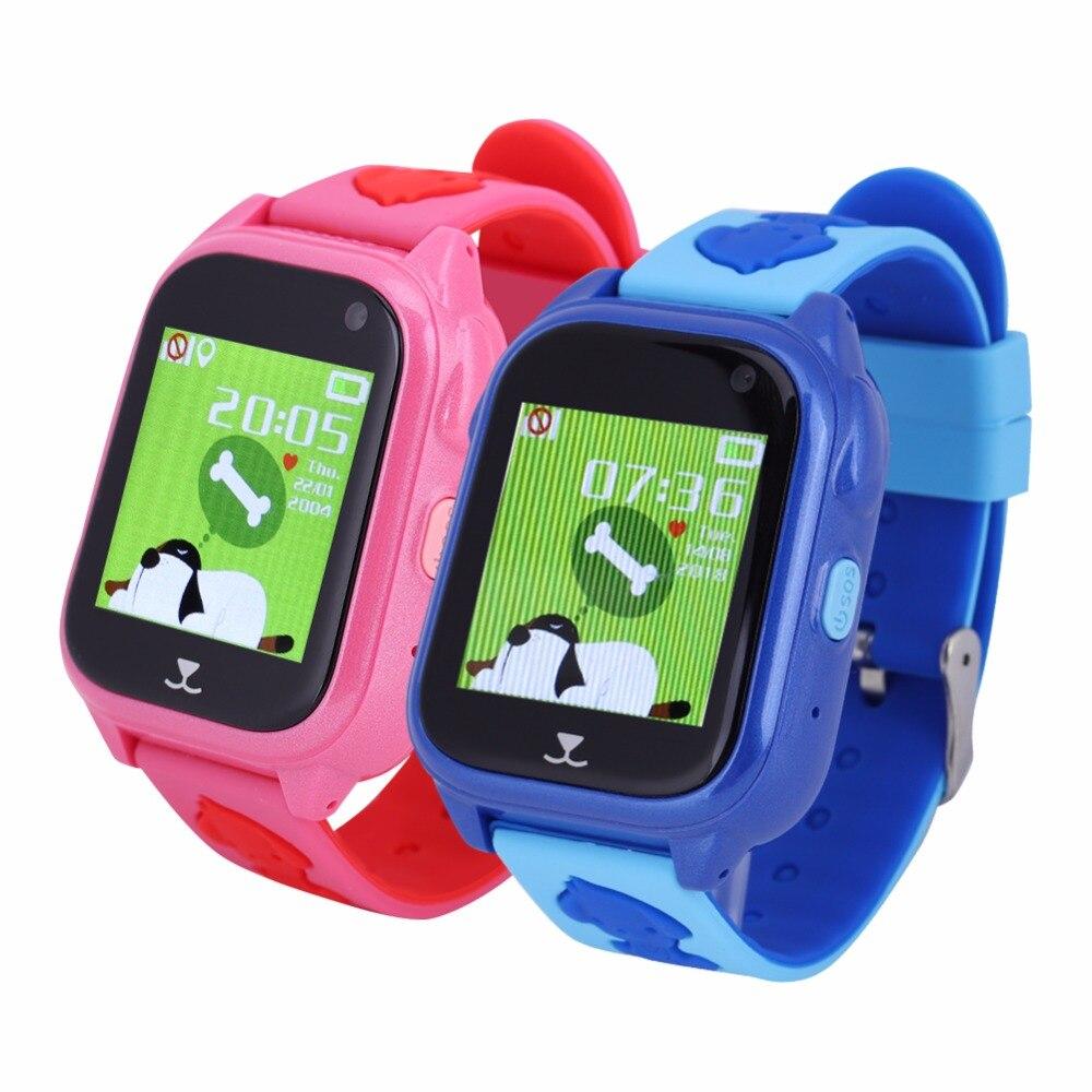 M06 Dual Chatting 1 44 OLED Smart Bracelet Children GPS LBS GPRS Location Waterproof IP68 Sport