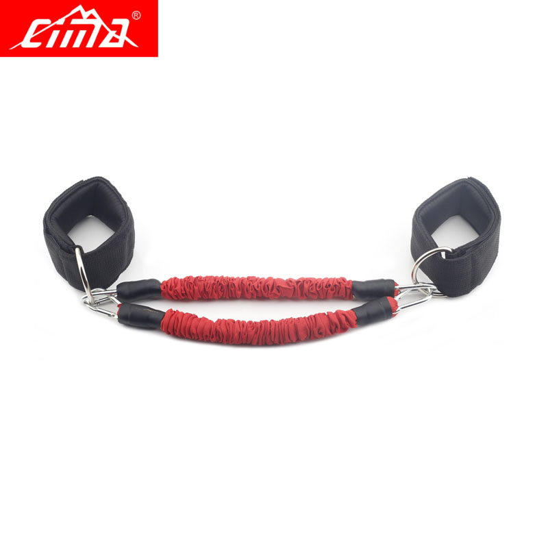 CIMA Resistance Bands Running tubes crossfit Kinetic Leg jump Exercise For Football basketball Training Speed Agility pull rope in Resistance Bands from Sports Entertainment