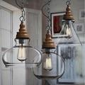 3pcs/pack Minimalist Bar Lampara Colgante Retro European Style Light Living Room Dinning Room Modern Glass Pendant Light