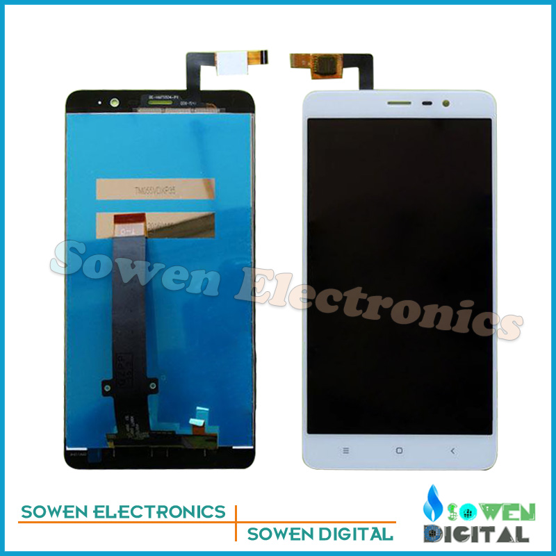 100% tested  for XiaoMi Hongmi Red rice RedMI Note 3 LCD display with Touch Screen digitizer assembly full sets