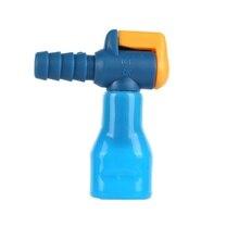 Кемпинг открытый мешок для воды 1 шт. черный/синий силиконовый 90 градусов прямой гидратации пакет всасывающее сопло укуса клапан