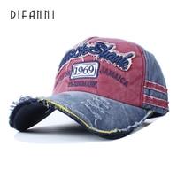Difanni GOOD Quality Brand Golf Cap For Men And Women Gorras Snapback Caps Baseball Caps Casquette