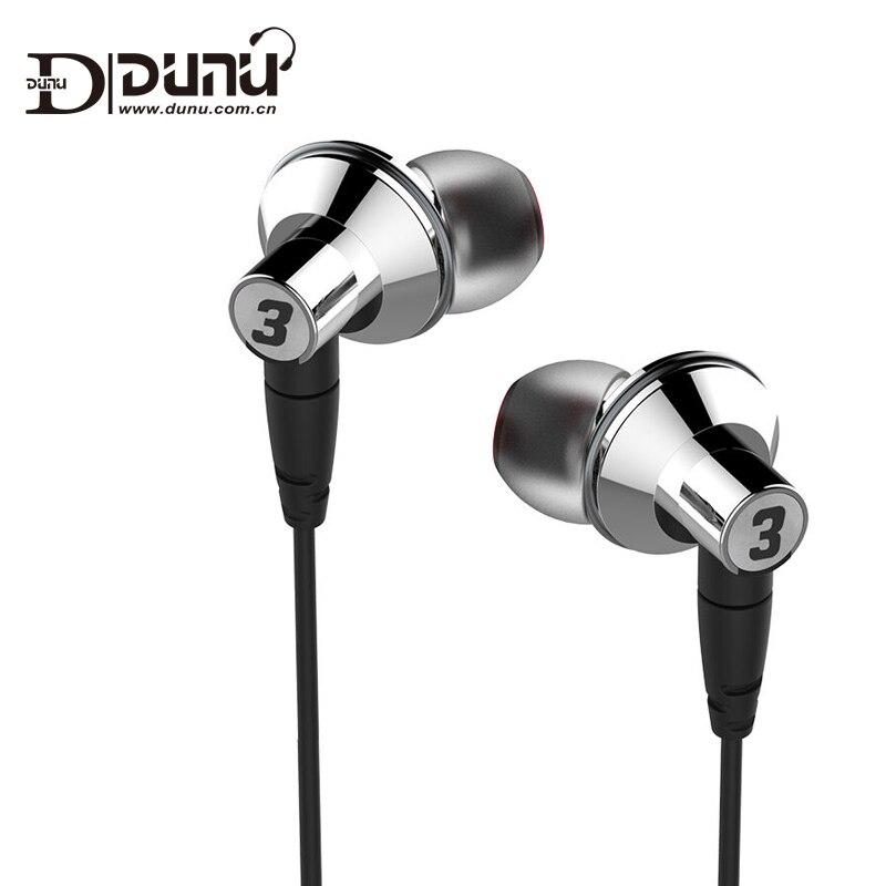 DUNU TITAN3 Titanium Diaphragm Dynamic High Fidelity HiFi Inner ear Earphone TITAN 3 TITAN 3