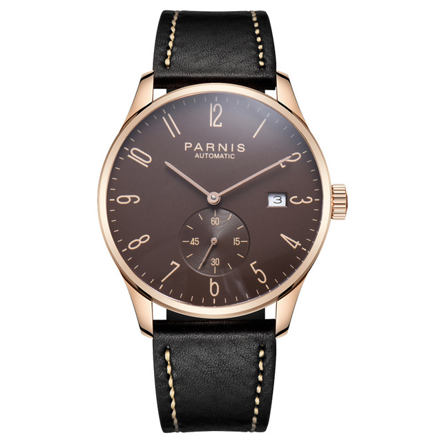 Parnis Mechanical Watches Diver Minimalist Watch for Men Wristwatch Luxury Waterproof Automatic hombre Relogio Masculino 2019