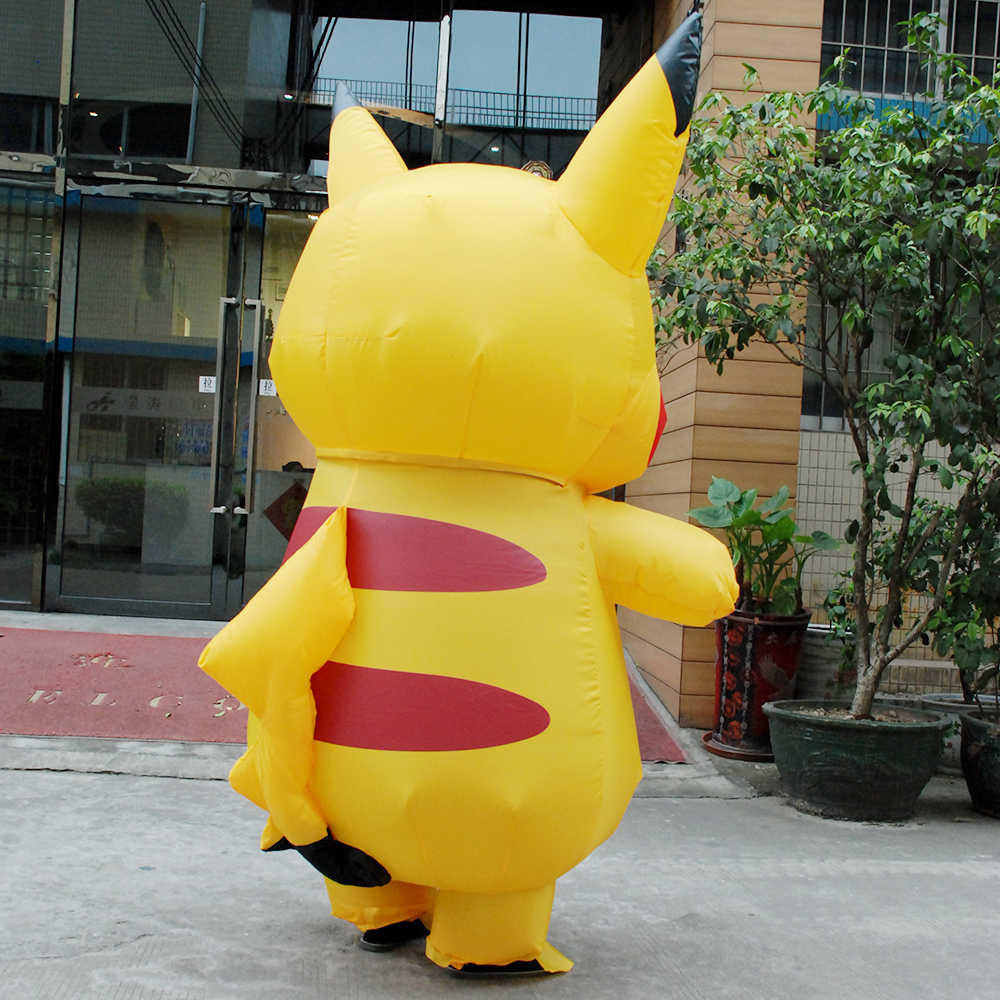 online shop halloween cosplay costumes for women inflatable pikachu costume adult child pokemon cosplay costumes onesie mascot aliexpress mobile - Pikachu Halloween Costume Women