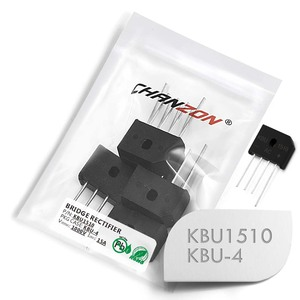 10 Pcs KBU1510 Bridge Rectifier Diode 15A 1000V KBU-4 (SIP-4) Single Phase Full Wave 15 Amp 1000 Volt Silicon kbu 1510