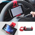 Support mobile car phone holder for car steering-wheel mount holder on bike automobile bicycle stand magnetic holder for phone 5