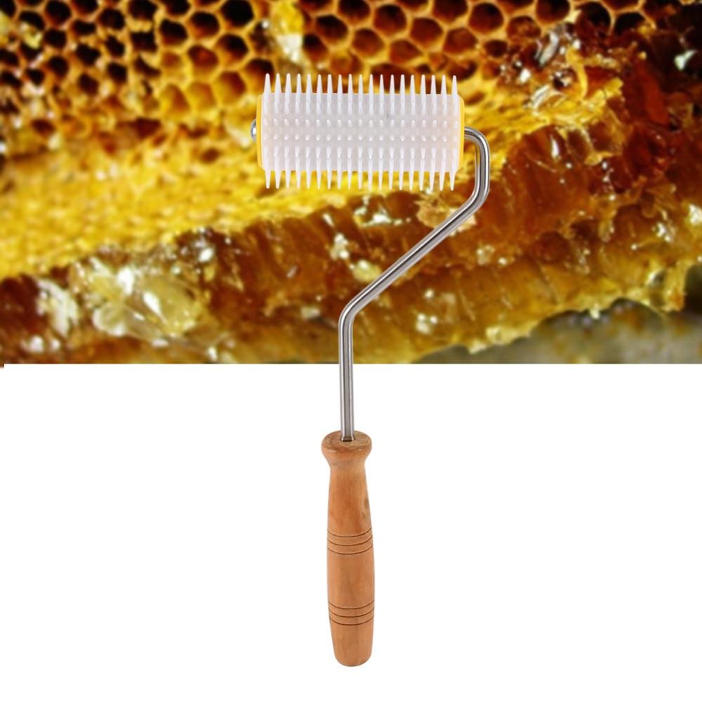 Beekeeping Tool Plastic Uncapping Needle Roller Bee Honey Extracting EquipmeWP4