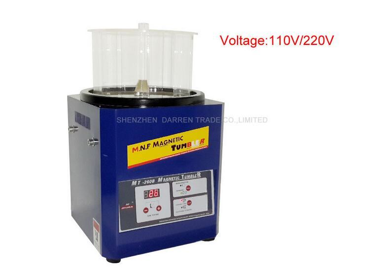 1pcs 110V / 220V Tumbler Magnetic Tumbler Jewelry Polisher Super - ابزار برقی