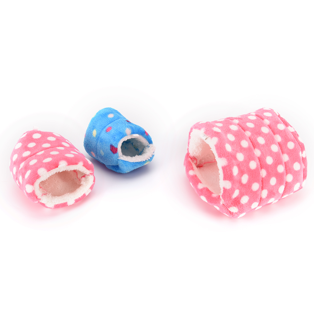 Pig/cat/dog Chinchillas Squirrel Bed Nest Hamster House Cage Accessories Mini Animals Hamster Bed Cotton Pet Nest #6