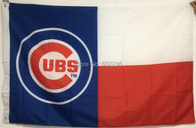 NEW Baseball Chicago Cubs Large Outdoor Team Flag 3ft x 5ft Football Hockey USA Flag