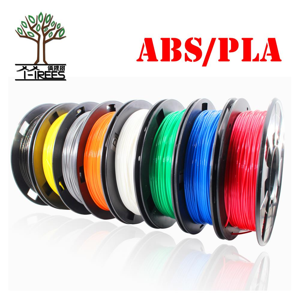 High Quality 3D Printer Pen Filament ABS 1.75mm lenght Plastic Rubber Consumables Material 3d pen filament 0.3KG createbot multicolors abs filament plastic material