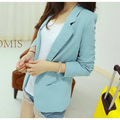 Blazer Women Feminino Korean Slim Shrug Suit Blazer Coat Casual Cardigan Outwear S1