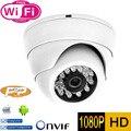 Wifi Mini câmera de 2MP 1080 P IP HD de segurança interior CCTV câmera de vigilância P2P ONVIF H.264 IR Cut Night Vision rede Dome câmara de