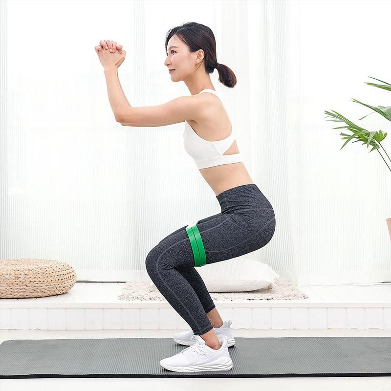 Image 4 - Xiaomi Mijia Qihao фитнес стрейч браслет в форме тела упражнения прочность натуральный латекс портативный подходит для спорта и фитнеса-in Умный пульт управления from Бытовая электроника