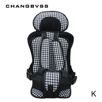 Plus Size Portable Toddler Car Seat Safety Comfortable Travel Child Car Seat Chair Cushion Kids 5