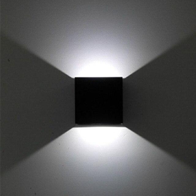 1X TV Hintergrund Led Wandleuchte Für Wohnzimmer Dekoration Wand Lichter  Metall Halterung Licht 10 CM *