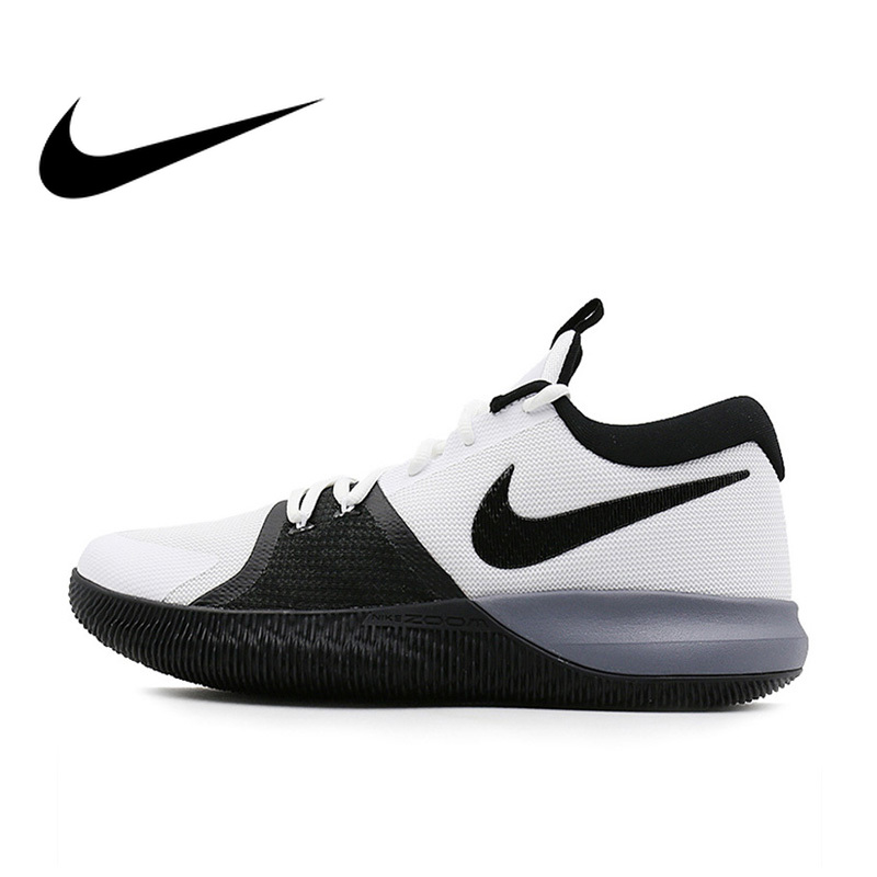 Original Official NIKE ZOOM ASSERSION EP Men's Basketball Shoes Sneakers Culture Low Top Thread Sports Outdoor Sneakers 917506