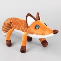 60CM Orange Fox Plush Doll Hot Movie Stuffed Animal Educational Toy Gifts For Baby Kids Brinquedo