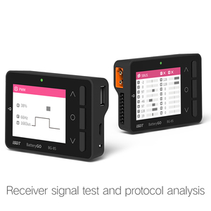 Image 2 - BG 8S Smart Batterij Checker Quick Charge Functie Balancer Ontvanger Signaal Tester Ameter Volt Meter IT60i Connector