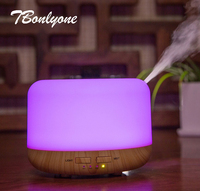 TBonlyone 400ML Auto Shut Off Electric Ultrasonic Air Humidifier Aromatherapy Essential Oil Aroma Lamp Diffuser For
