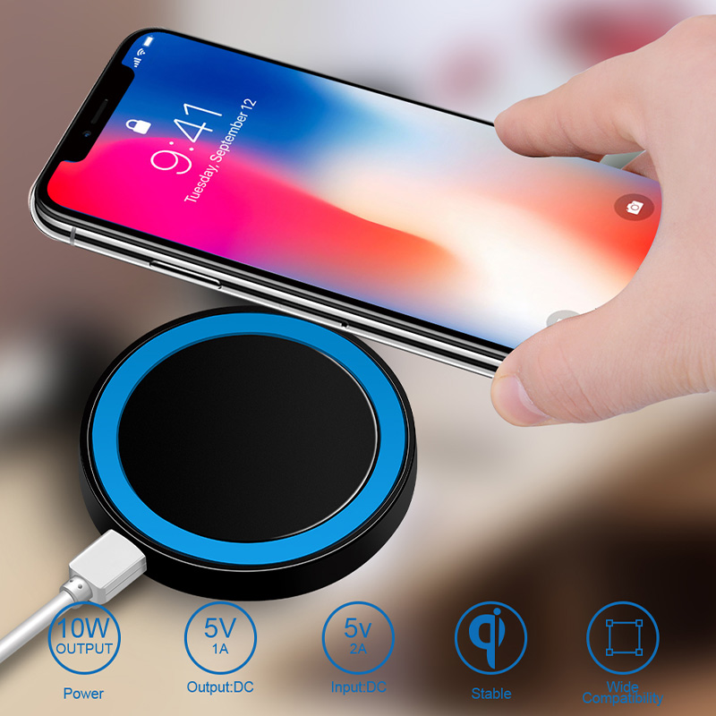 For Samsung Galaxy A01 A71 A51 Note10 Plus J3 J4 J6 J7 2018 Wireless Charger Charging Pad Qi Chargers Receiver Silicon Case