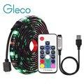 DC5V USB LED tira 5050 RGB RGBW RGBWW 50CM 1M 2M TV iluminación de fondo flexible LED tira cinta adhesiva IP20/IP65 impermeable