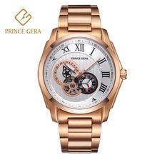 Часы prince gera мужские водонепроницаемые автоматические роскошные