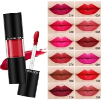 2019 New Travel Suit Waterproof Long Lasting Matte Mini Lipstick Colors Lip Gloss Lip Makeup Brand 1Set