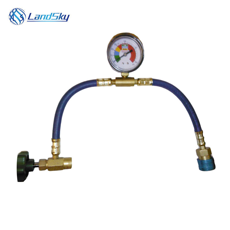 R134A recharge hose automotive air conditioning supply duct fluoride detection tube diy R
