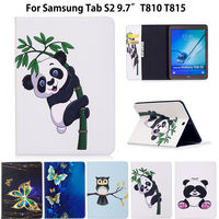Tab S2 9 7 Case Panda Pattern Cover For Samsung Galaxy Tab S2 9 7 T810