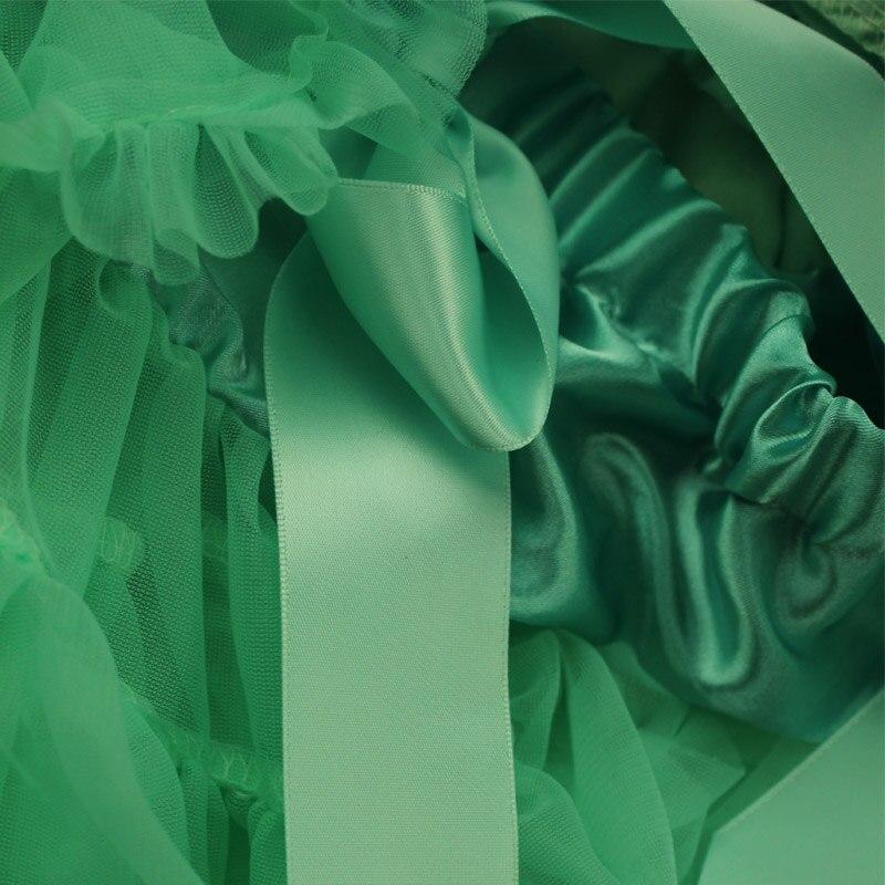 Extra full baby tutu Қатты жасыл pettiSkirt зауыты - Балалар киімі - фото 6